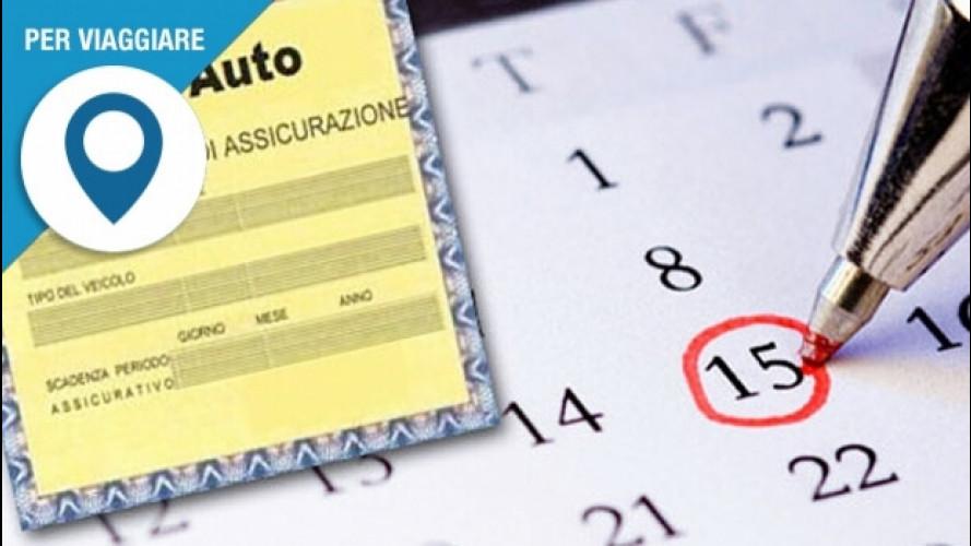 Assicurazione auto, scadenza, rinnovo e validità