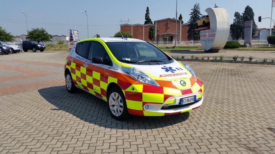 Nissan Leaf Automedica, l'elettrica per il trasporto sanitario