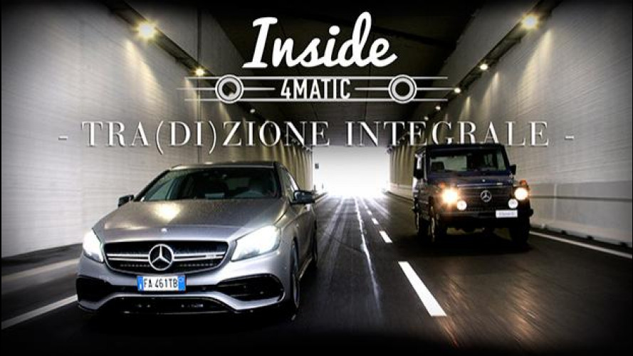 Inside Mercedes 4MATIC, gli estremi opposti si toccano [VIDEO]