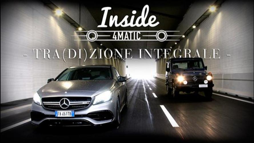 Inside Mercedes 4MATIC, gli estremi opposti si toccano [VIDEO]