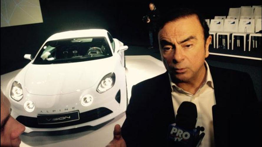 Carlos Ghosn: la Alpine Vision è la nuova