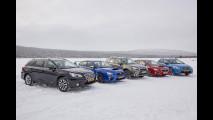 Subaru Symmetrical AWD, la prova in Norvegia