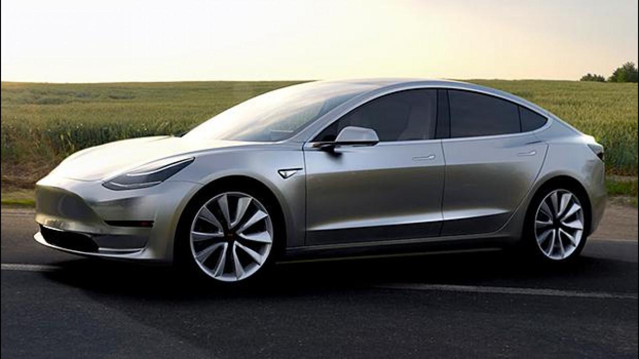 [Copertina] - Tesla Model 3, sono 325.000 le prenotazioni
