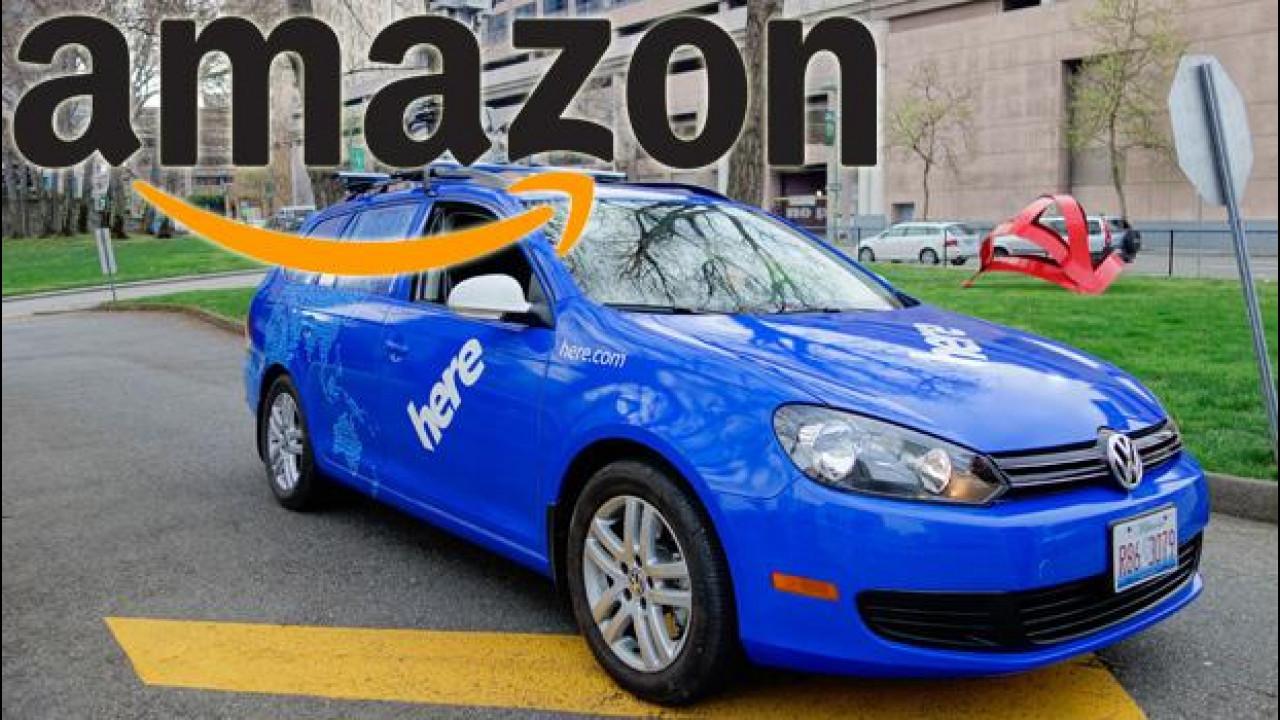 [Copertina] - Amazon vuole le mappe di Audi, BMW e Mercedes