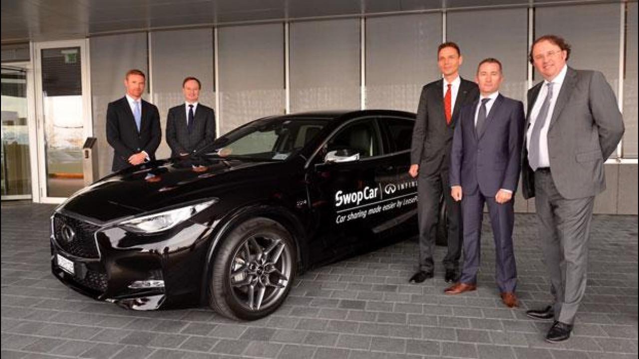 [Copertina] - Infiniti Q30, in car sharing per le aziende