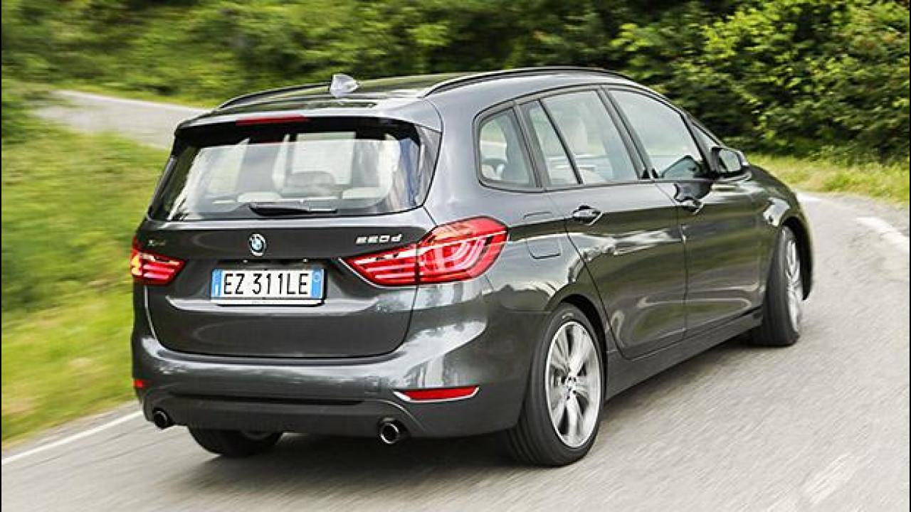 [Copertina] - BMW Serie 2 Gran Tourer, famiglia allargata
