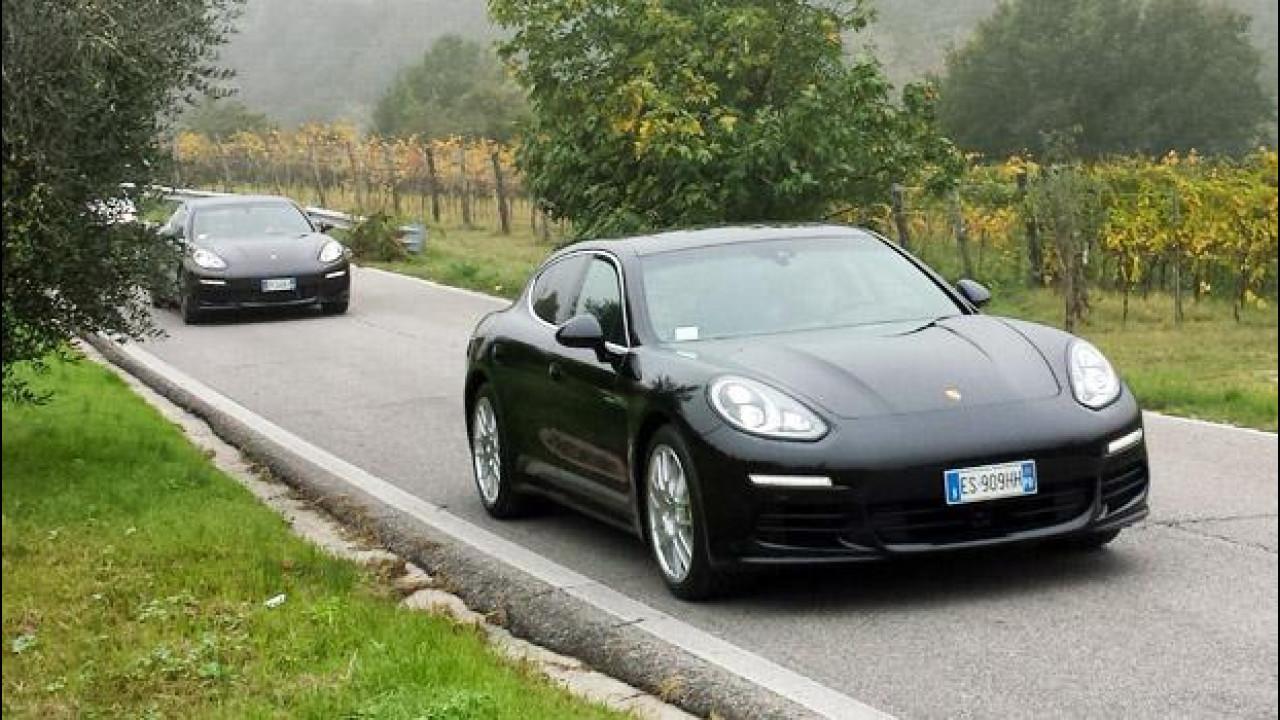 [Copertina] - Porsche Panamera S E-Hybrid, la prova dei 4,6 l/100 km