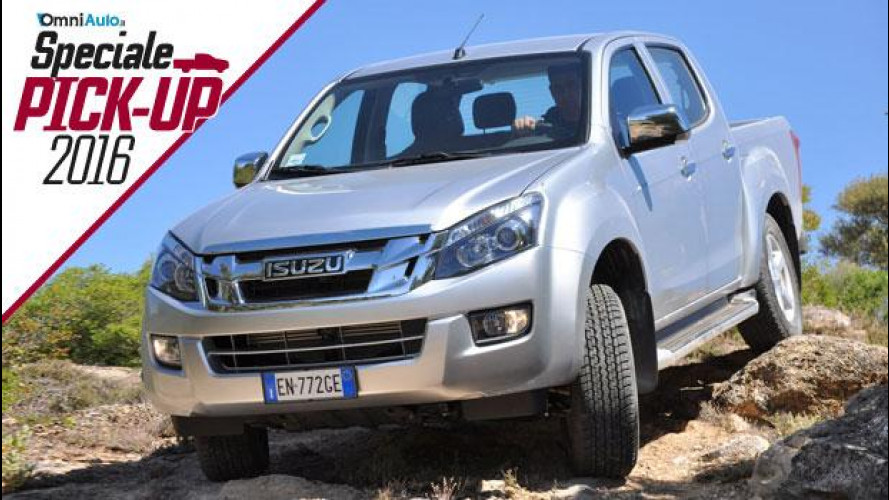 Isuzu D-Max, il pick-up cugino dello Shinkansen