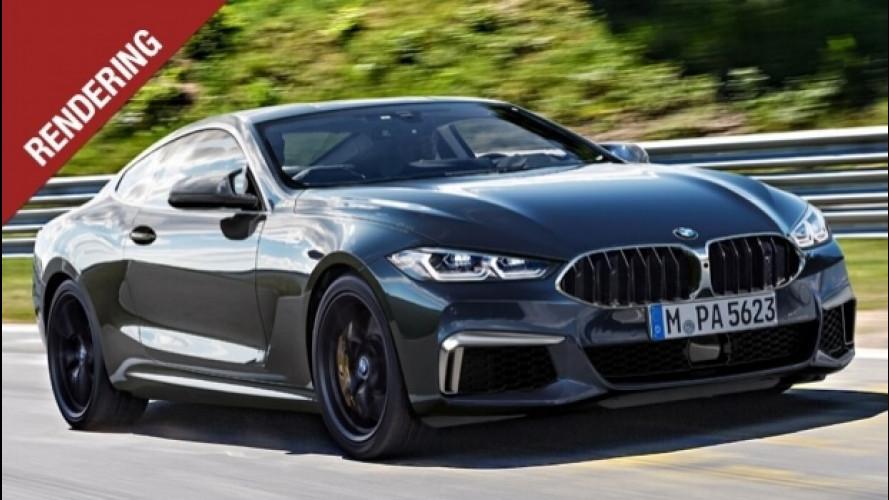BMW M8, torna il mito degli anni '90