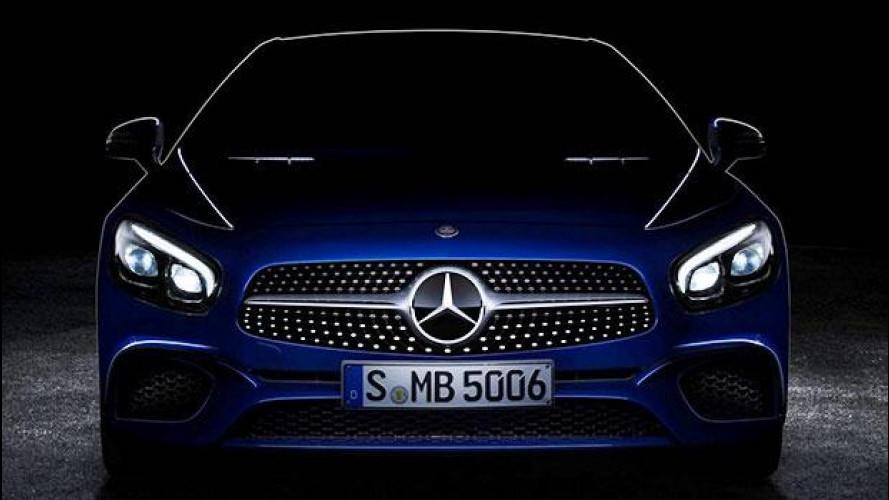 Mercedes SL restyling, ecco il nuovo frontale