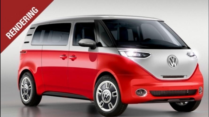 Nuovo Volkswagen Bulli, l'icona vintage torna ad emissioni zero