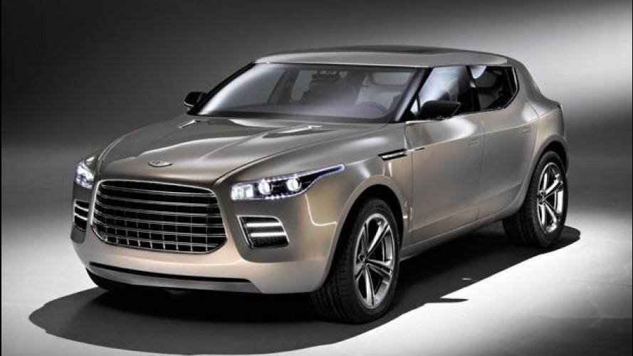 Aston Martin e Daimler, insieme per il SUV
