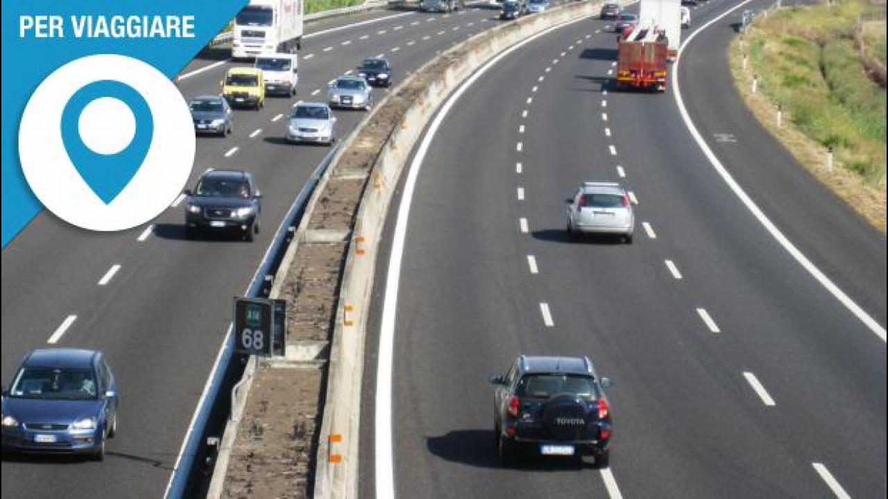 [Copertina] - Autostrade, la corsia di destra vi farà risparmiare qualche incidente