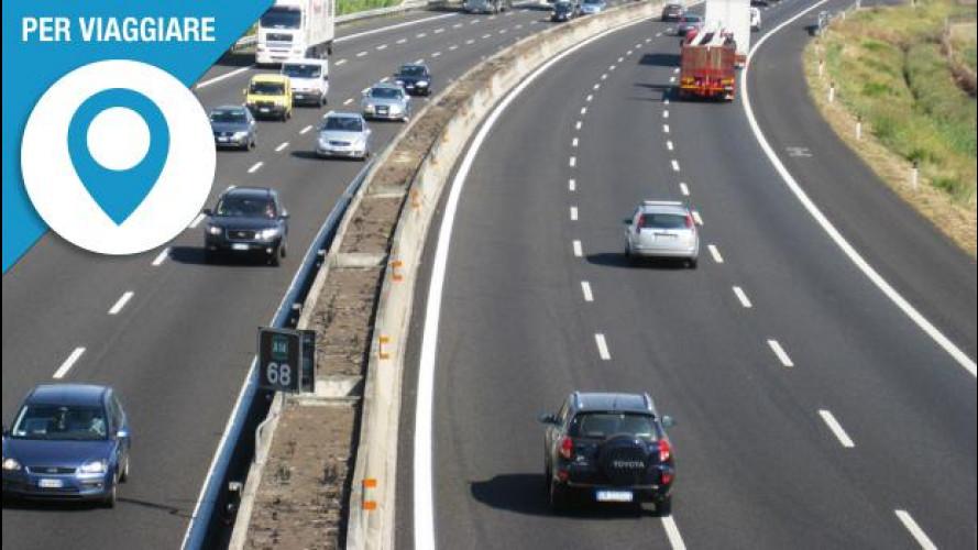 Autostrade, la corsia di destra vi farà risparmiare qualche incidente