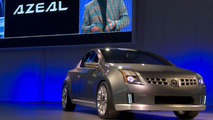 Nissan AZEAL on stage at NAIAS
