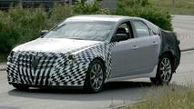 Cadillac CTS Spy Photos