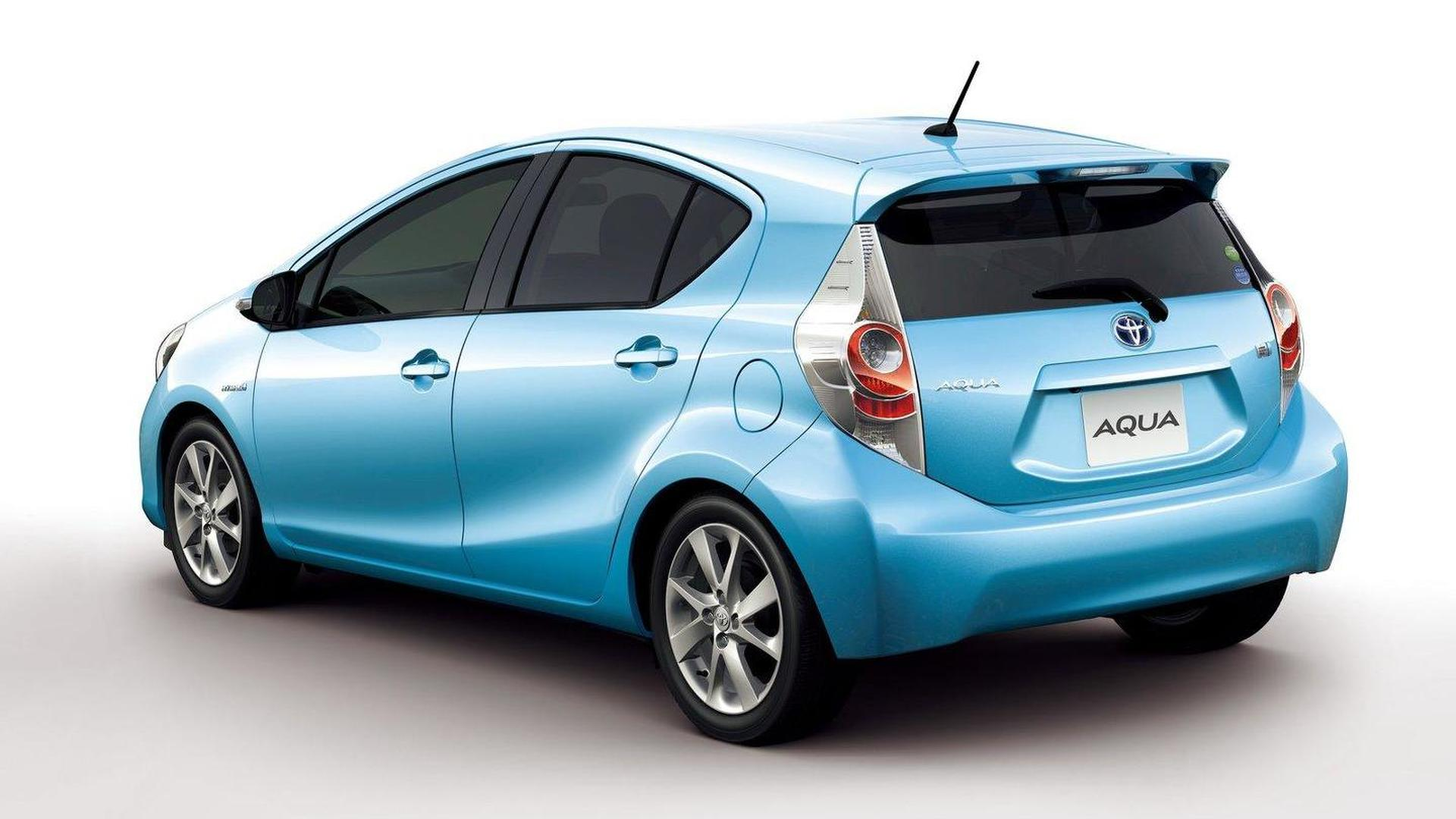 Toyota Aqua Prius C Launches In Japan Along With Trd And