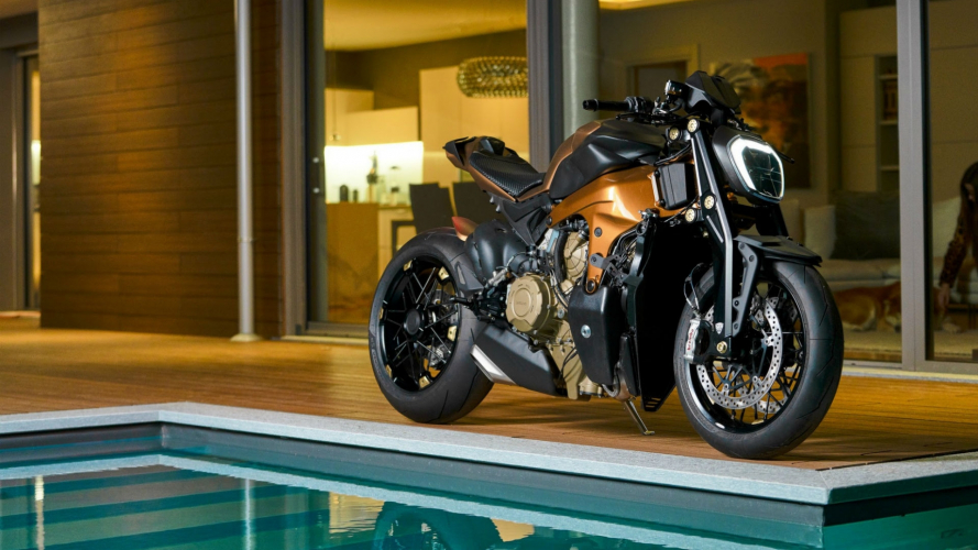 V4 Penta, la Ducati Panigale da 100.000 euro