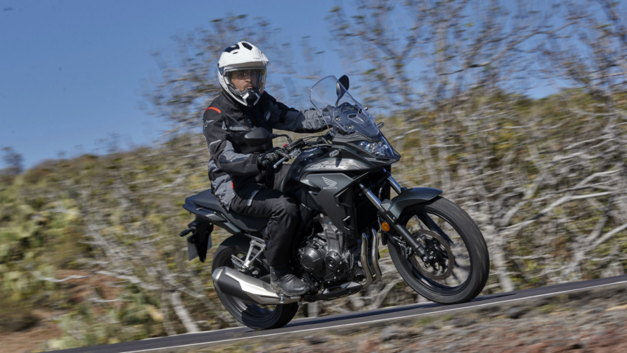 Honda CB500X - TEST