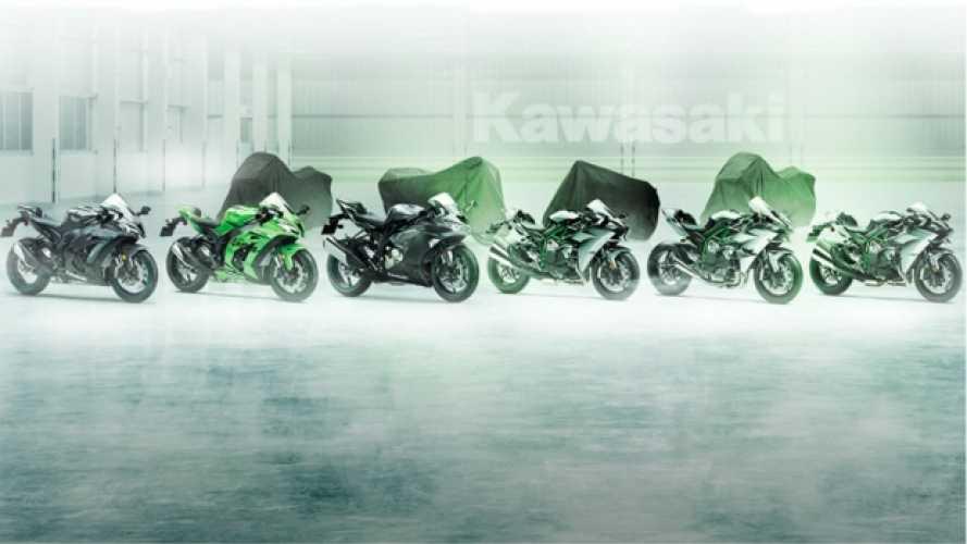 EICMA: 4 novità per Kawasaki