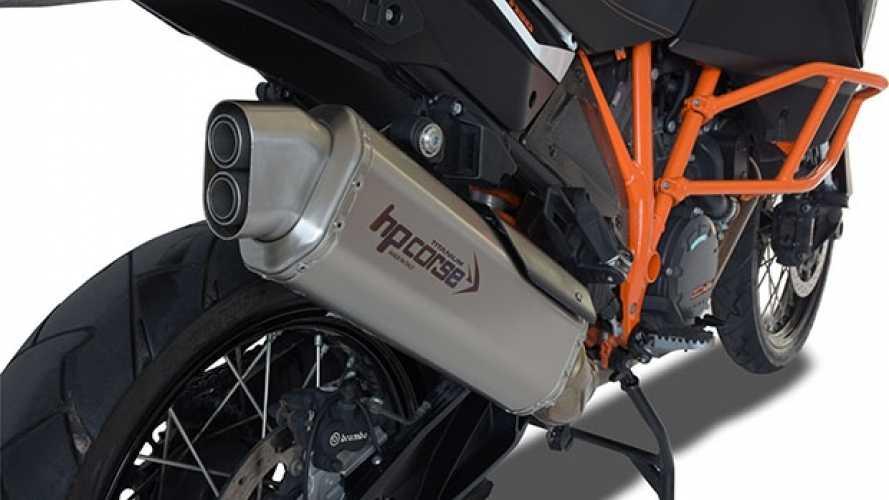 HP Corse 4TRACK, il nuovo scarico per le KTM Adventure