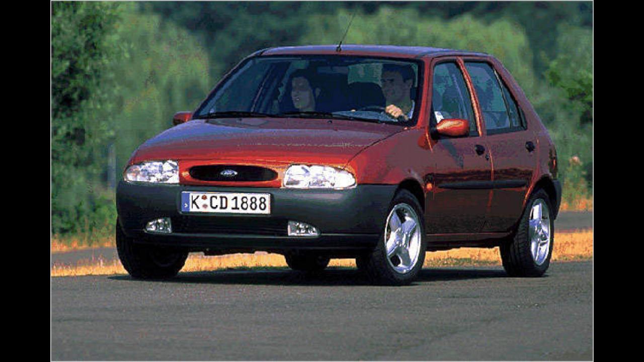 Platz 5: Ford Fiesta (4,7 Prozent)