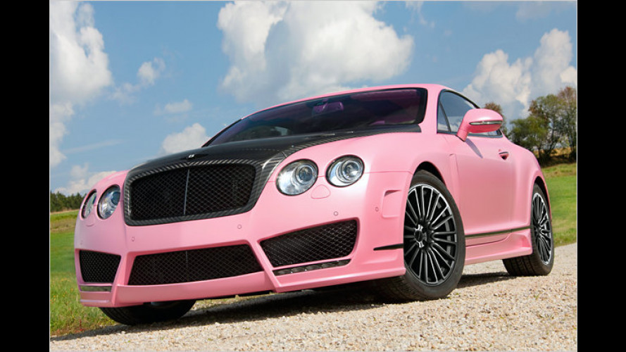 Hingucker: Pinkfarbener Bentley Continental GT Speed