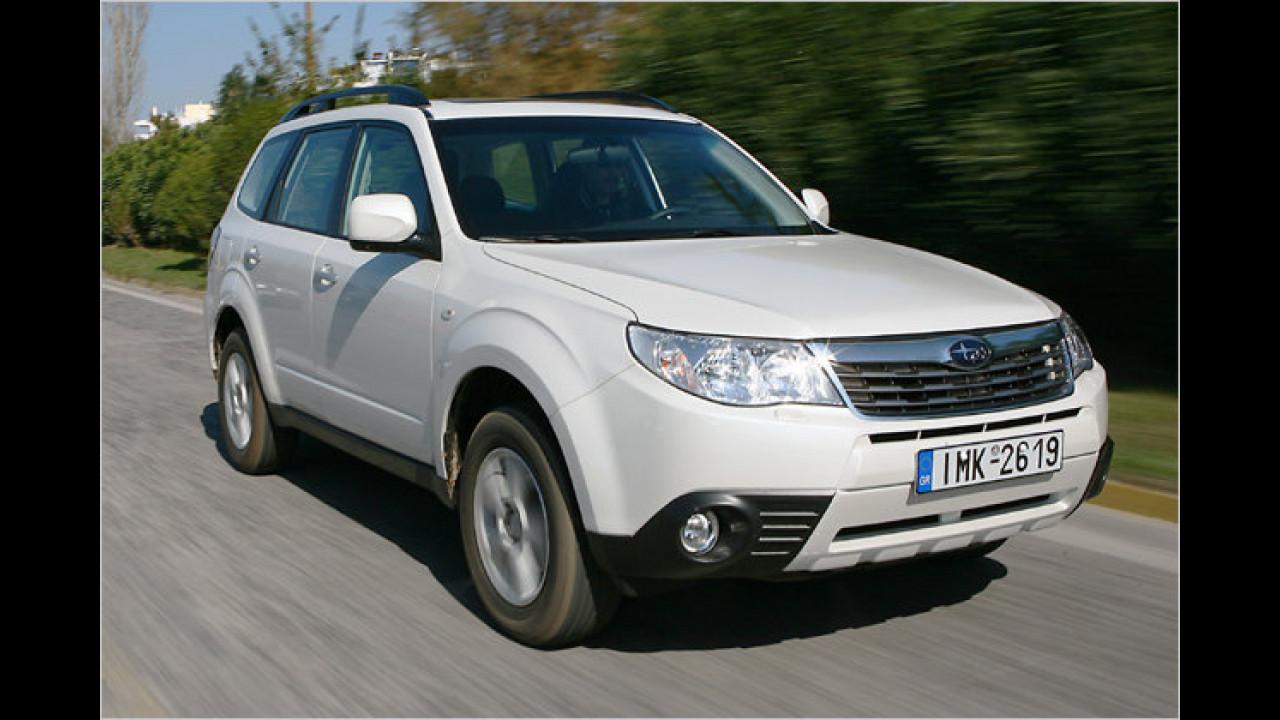 SUVs/Geländewagen, 3. Platz: Subaru Forester