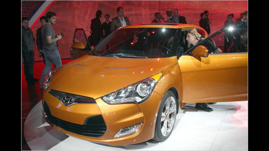 Mach auf die Tür: Hyundai Veloster in Detroit