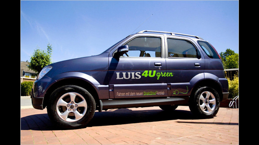 Luis 4U green: Elektroauto mit exquisiter Ausstattung