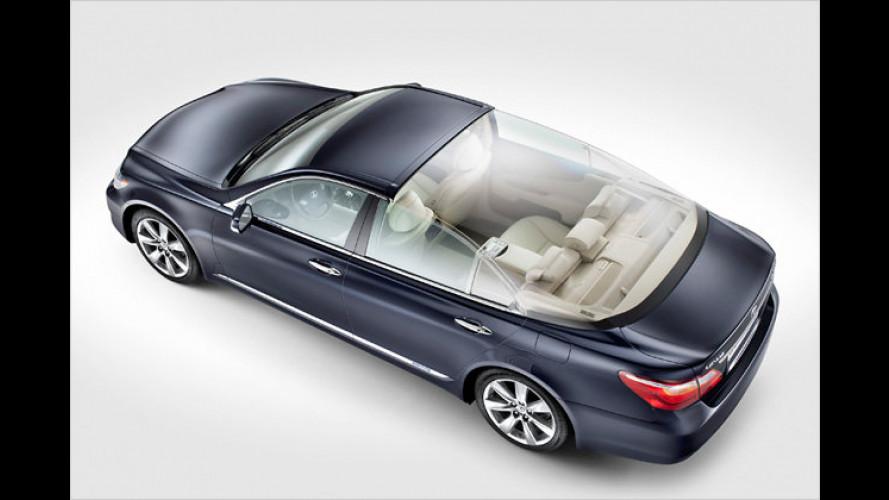 Fürstlich: Lexus-Landaulet für Charlene und Albert