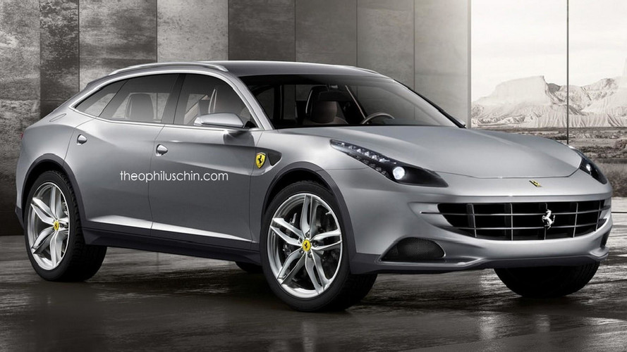 Láthatatlan hátsó ajtókkal érkezhet a Ferrari első SUV-ja