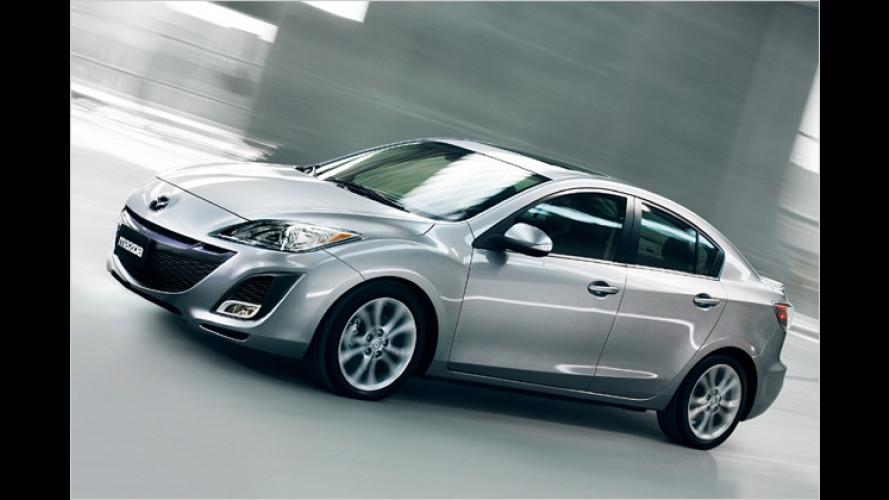 Mazda 3 feiert Weltpremiere auf der L. A. Auto Show 2008