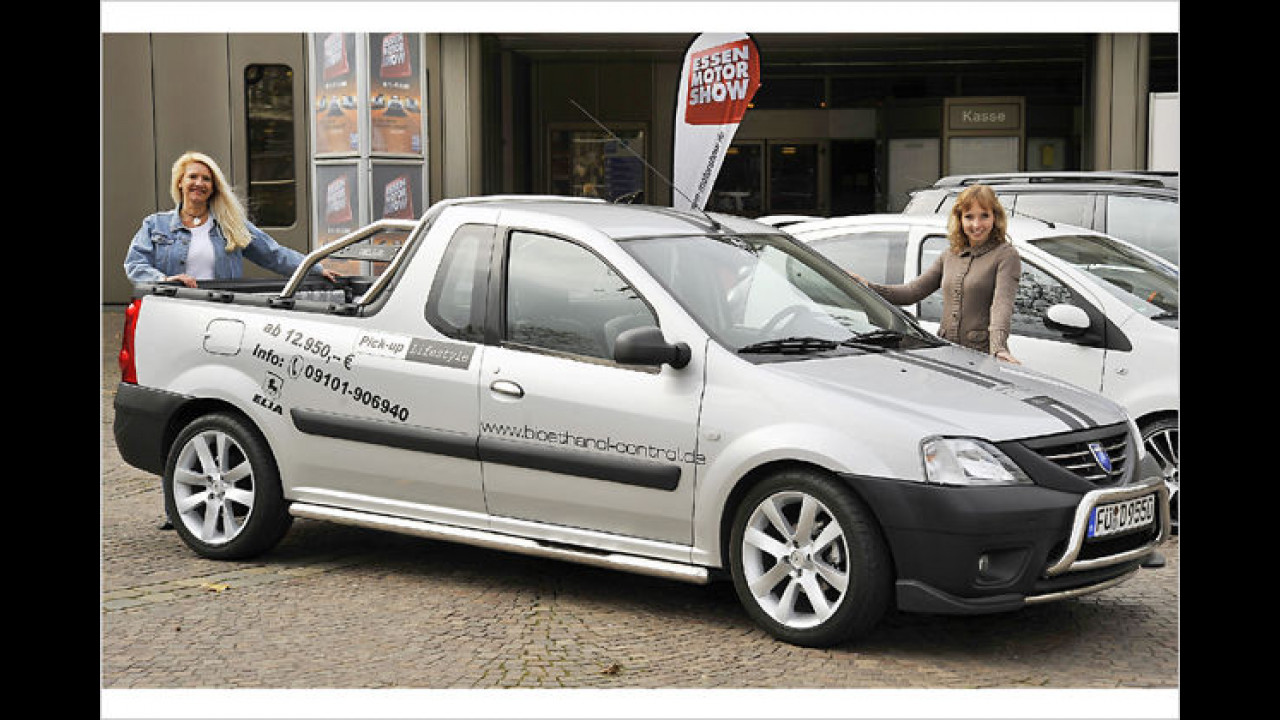 Tuningneuheiten: Elia Dacia Pick-up
