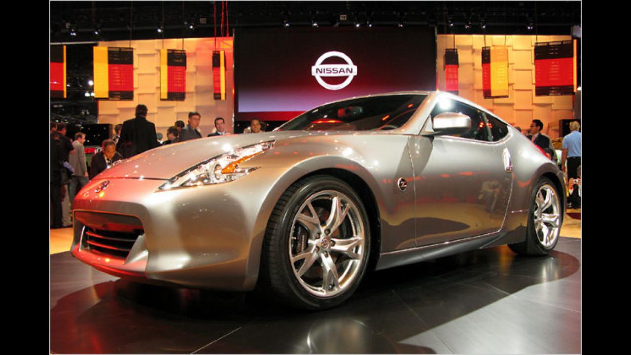 Premiere für Nissan 370Z