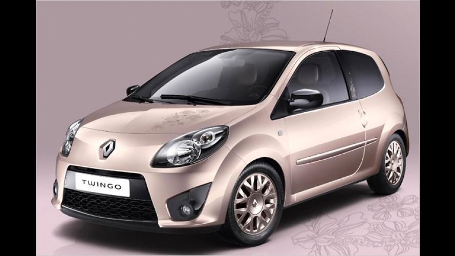 Rosarotes Komfortmobil: Renault Twingo Miss Sixty