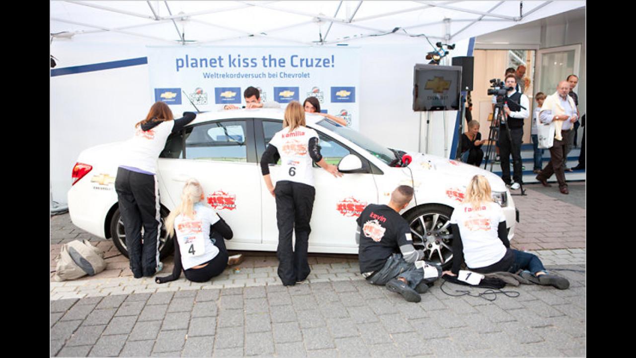 Das am längsten geküsste Auto: Chevrolet Cruze