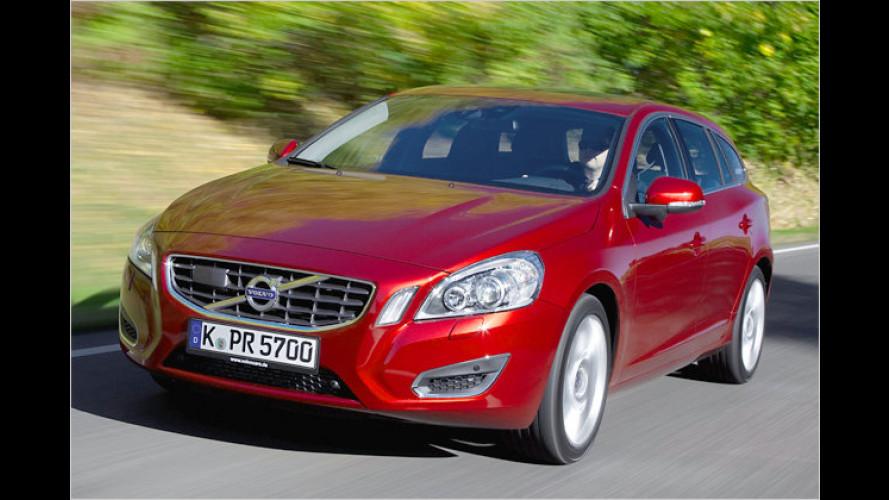 Ganz sicher nicht langweilig: Volvo V60 DRIVe im Test