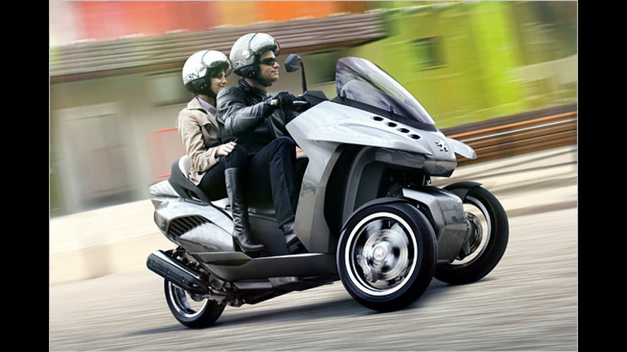 Neues Hybrid-Dreirad