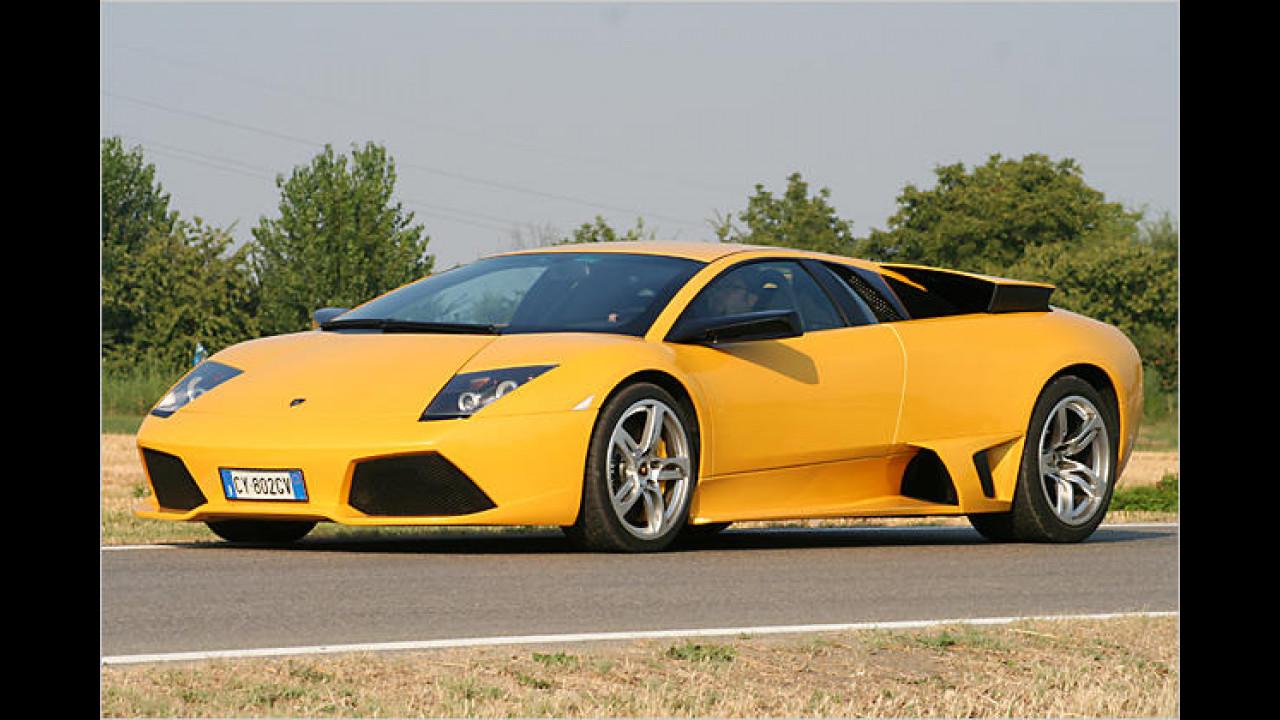 Platz 19: Lamborghini Murciélago LP640
