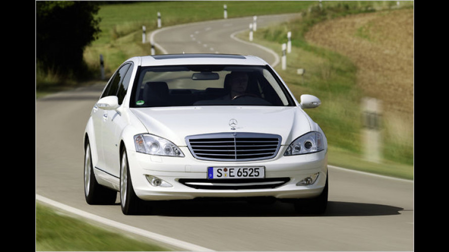 Mercedes S 320 CDI BlueEfficiency: Die sparsamste S-Klasse
