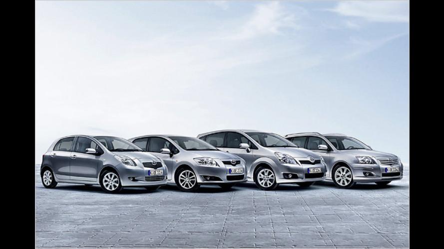 Mit den Toyota-Team-Sondermodellen in den Frühling fahren