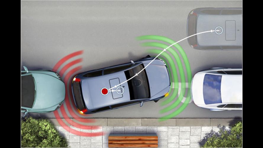 Neuer Parkassistent von Bosch schont die Nerven