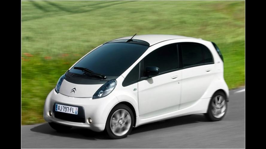 Citroën C-Zero: Klein, elektrisch und schon bestellbar