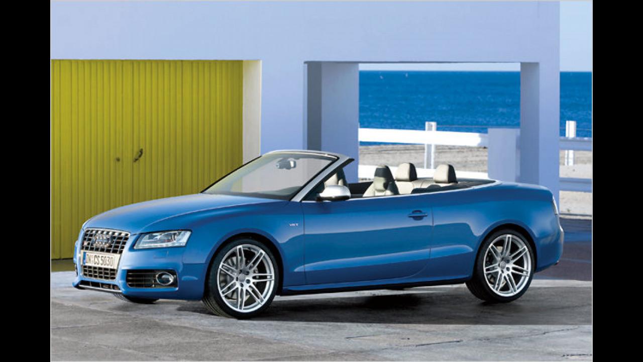 Audi: Die häufigste Farbe ist Schwarz