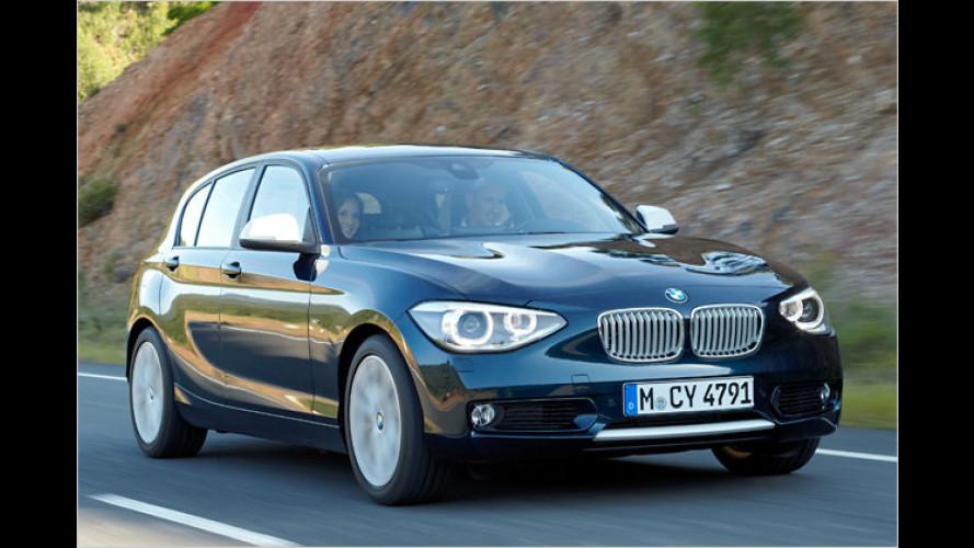 Preise für neuen BMW 1er: Fünftüriger 116i ab 23.850 Euro