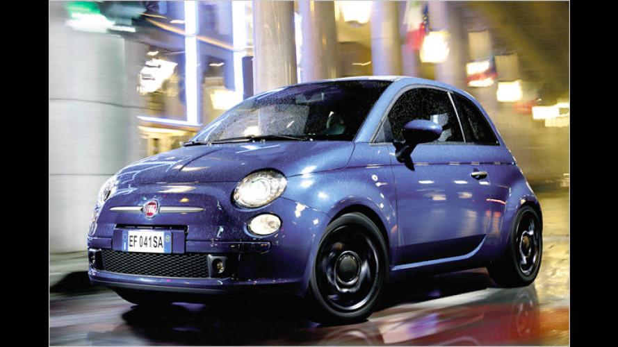 Fiat 500 TwinAir: Neue Ausstattungslinie ,Plus
