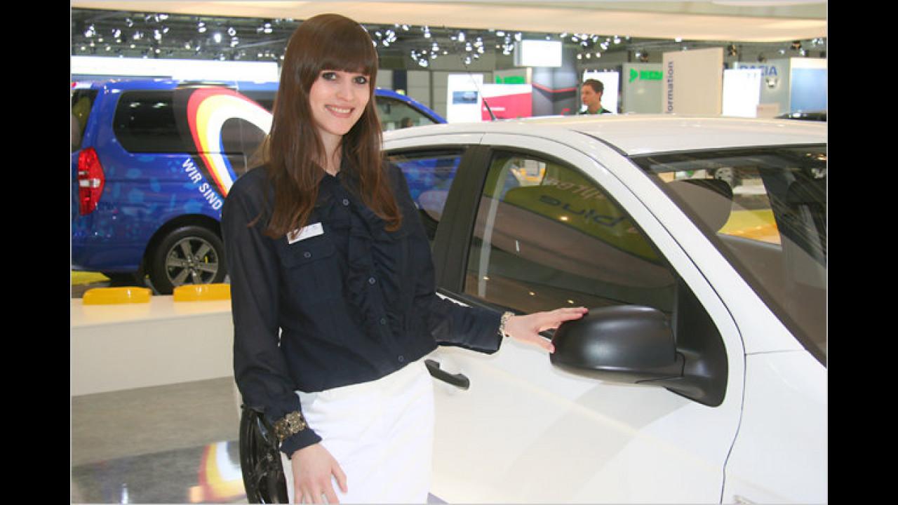 Hyundai hat viele schöne Exponate mitgebracht