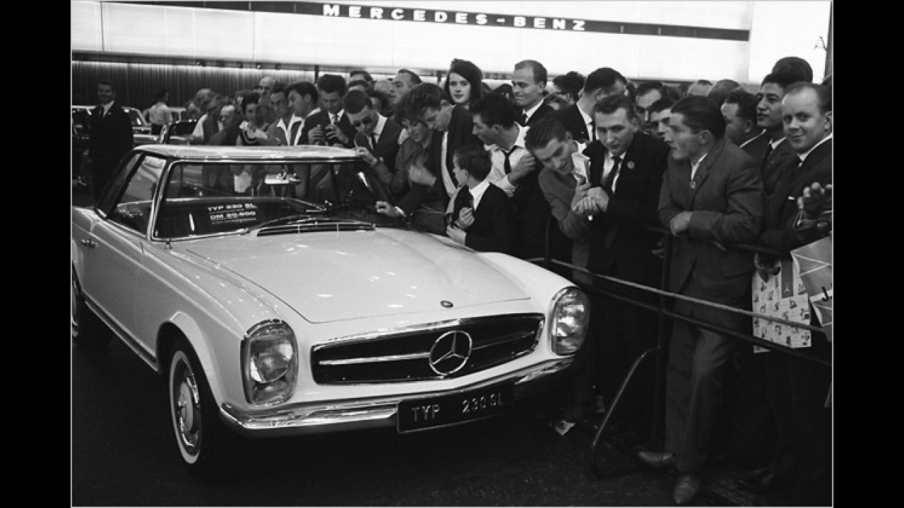 Mercedes SL (W 113): ,Pagode