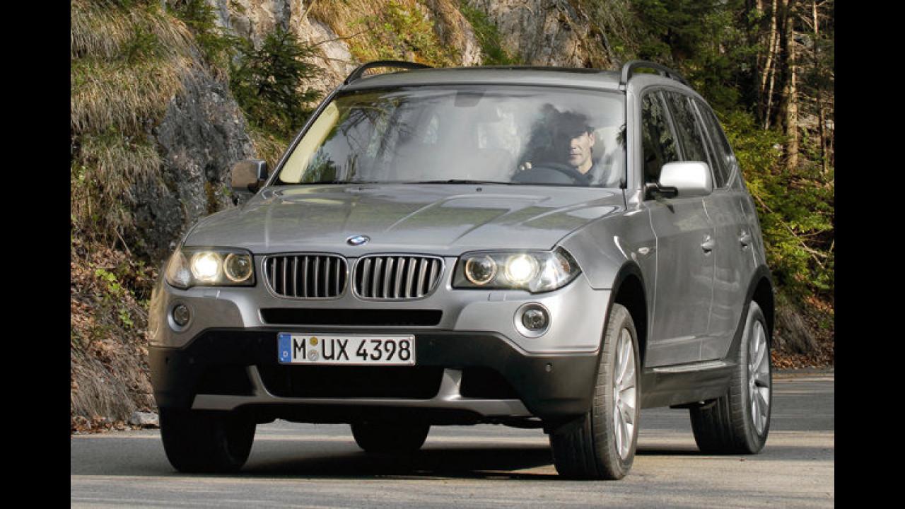 BMW X3 xDrive30d DPF